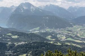 The view from Kehlstein Mountain, stretching into Austria. Photo courtesy of Eddy Bertels.